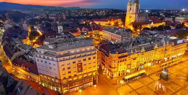 Zagreb - otkrijte sve zimske čari hrvatske metropole - 1 noćenje s doručkom za 2 osobe u The Movie Hotelu 3*, nedaleko od centra grada za 299 kn!
