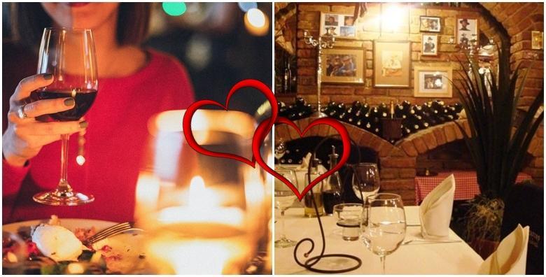 Valentinovo - proslavite dan ljubavi uz ručak/večeru, živu glazbu i bogati izbor slasnih jela za 2 osobe u Texas steak&grill house ili The Movie pub od 99 kn!