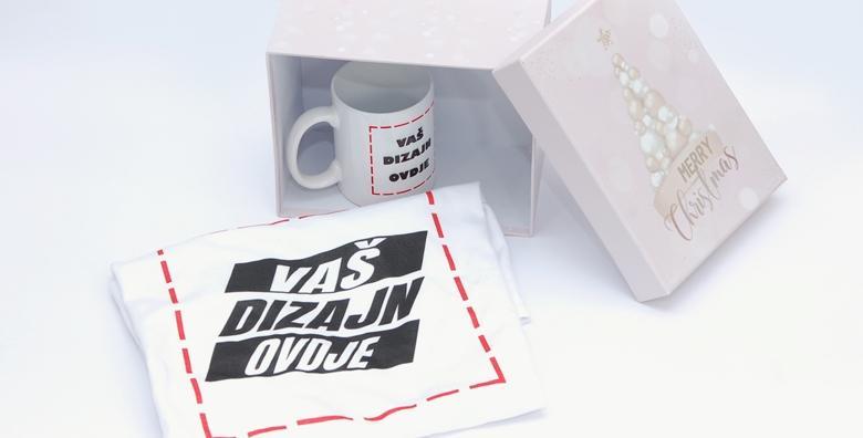 Božićni set - ukrasna kutija, personalizirana majica i personalizirana šalica za 119 kn!