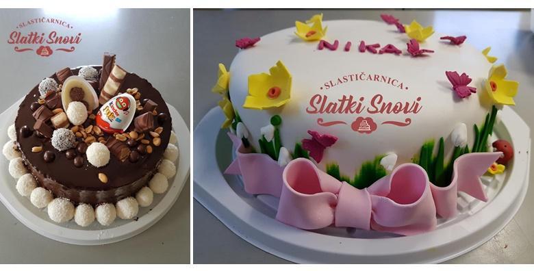 Torta po izboru promjera 26 cm uz uključenu dostavu za Zagreb -  razveselite najmilije slasticom od vrhunskih sastojaka za 179 kn!