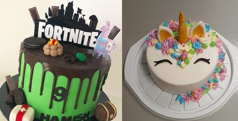 Torta u obliku Fortnite igrice ili jednoroga za 349 kn!