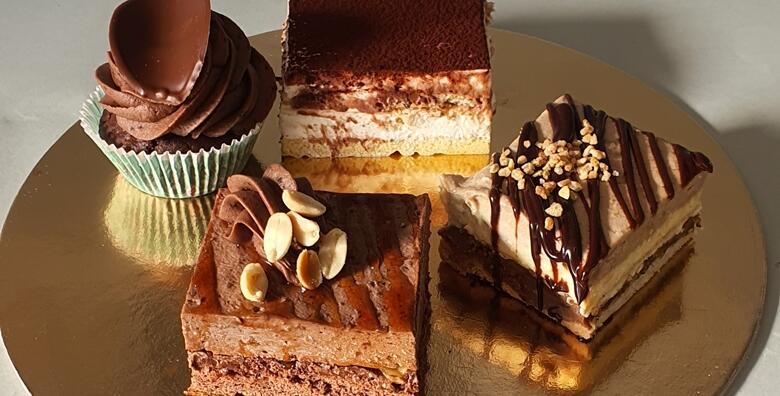 Razmazite nepce uz 4 vrhunska kolača - snickers, tiramisu, cupcake od čokolade, monte za 49 kn!