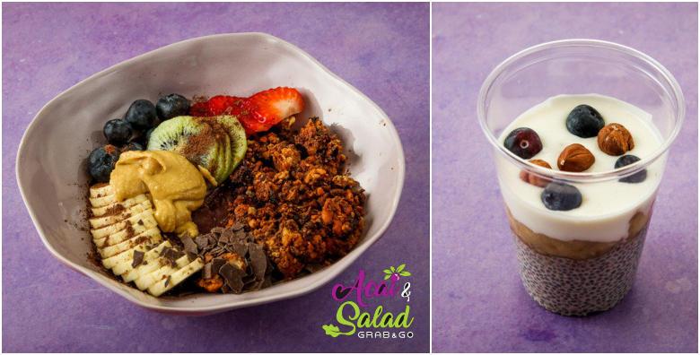 Acai & Salad Bar - isprobajte superhranu bogatu antioksidansima, meni po izboru od 97 kn!