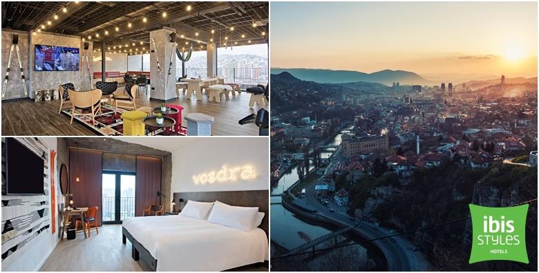 Zimski odmor u Sarajevu - 2 noćenja s doručkom za 2 osobe u Ibis Styles Hotelu za 855 kn!