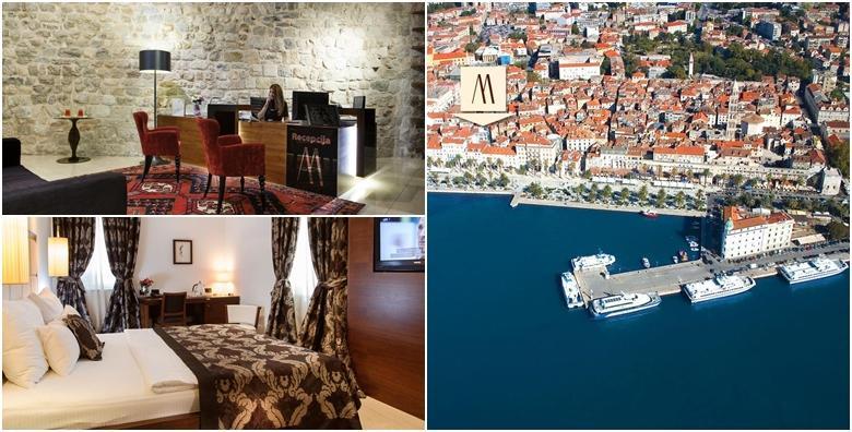Ponuda dana: Zimski provod u Splitu - 1 noć s doručkom za 2 osobe u Hotelu Marmont 4* smještenom u samom centru grada za 585 kn! (Hotel Marmont)