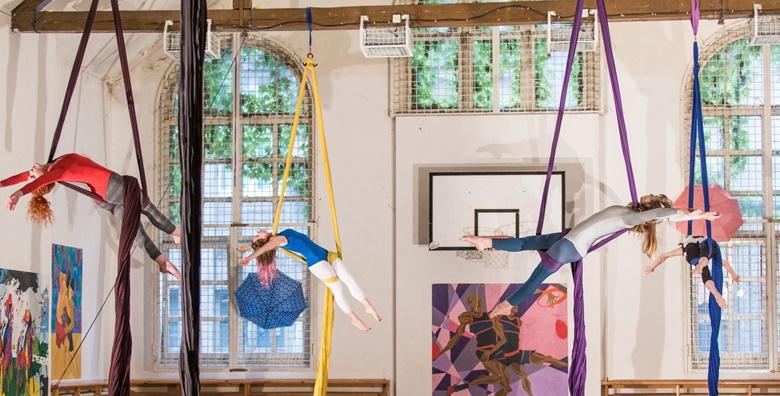 Ples na svili - povećajte snagu i fleksibilnost spojem plesa i gimnastike uz mjesec dana treninga za početnike u centru grada za 179 kn!