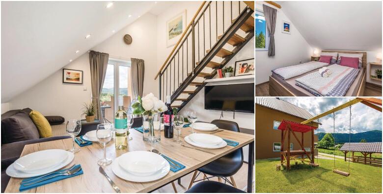 Bjelolasica - provedite idealan odmor u prirodi uz 1 ili 2 noćenja za 4 do 6 osoba  u luksuzno uređenim apartmanima Lara 3* od 299 kn!