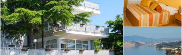 LJETNA SEZONA U CRIKVENICI - 2, 5 ili 7 noćenja s polupansionom za dvije osobe + gratis ponuda za 1 dijete do 12 godina u predivnom ambijentu Hotela Villa Aurora 3* od 1.525 kn!