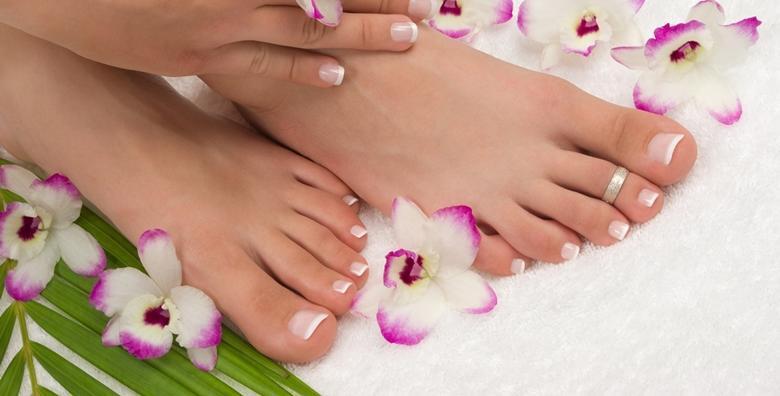 Estetska pedikura i trajni lak - uljepšajte stopala i ukrasite nokte omiljenom bojom u La Camilla Beauty & Nutrition Centru za 149 kn!