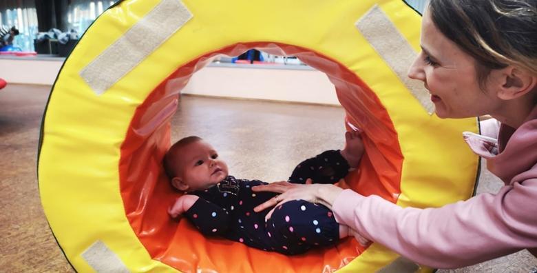 Senzomotoričke vježbe za bebe KindyROO - vježbajte sa svojim djetetom  uz stručno vodstvo licencirane profesorice za 175 kn!