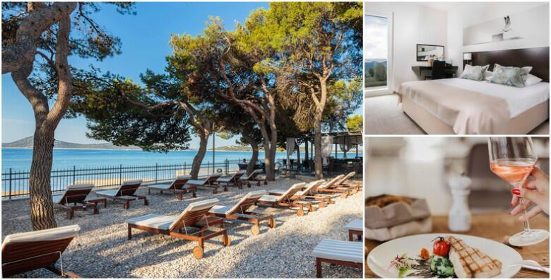 VODICE - početak ljeta uz 3 noćenja s polupansionom za dvoje + gratis smještaj za 1 dijete do 3 god. u moderno uređenom Hotelu Villa Arausana & Antonina 4* za 2.700 kn!