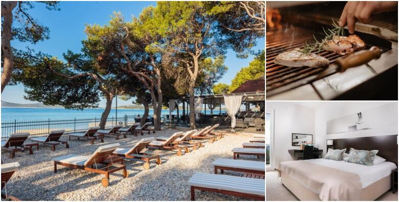 VODICE - 7 noćenja s polupansionom za dvoje + gratis smještaj za 1 dijete do 3 god. u moderno uređenom Hotelu Villa Arausana & Antonina 4* s privatnim vrtom za 6.034 kn!