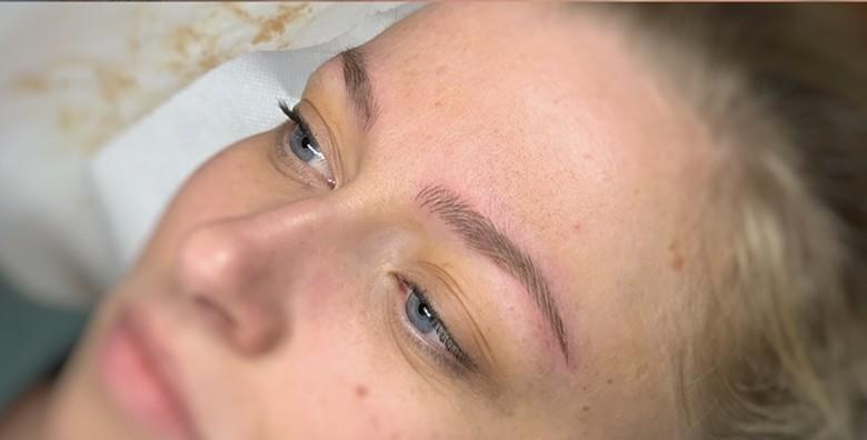 POPUST: 61% - Microblading obrva - savršeni oblik obrva za vaše lice, tehnika kojom  se imitiraju dlačice i njihov prirodan rast u KBrows studiju za 549 kn! (KBrows)