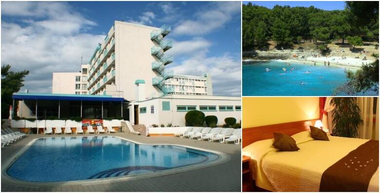 Pula - kreirajte svoj godišnji odmor uz 1 ili više noćenja za 1 ili 2 osobe i 2 djece do 14 godina s polupansionom u Hotelu Pula 3* u blizini mora od 490 kn!