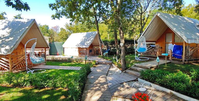 Polidor Camping Park 4*- 2 noćenja u glamping sobama za dvije osobe za 591 kn!
