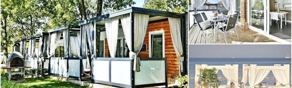 Funtana - idealan odmor uz 2 noćenja za do 4 osobe u dizajniranim mobilnim kućicama Polidor Camping Parka 4* uz neograničeno korištenje fitnessa za 995 kn!