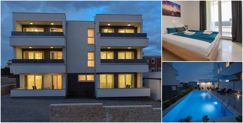 Novalja - 2 noćenja za do 4 osobe u Apartmanima Mare 4* s bazenom za 899 kn!