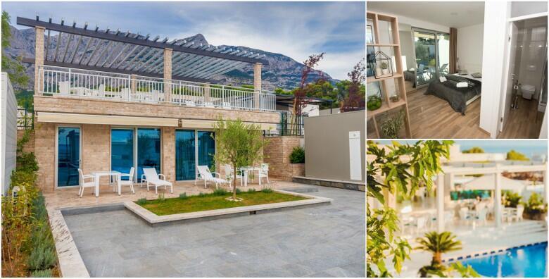 MAKARSKA- ljetujte 2 ili 5 noćenja u luksuznim apartmanima u Poseidon Mobile Home Resortu 4* za 2 osobe s uključenim doručkom u ŠPICI SEZONE od 1.149 kn!