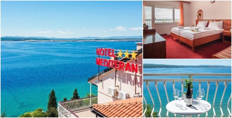 Crikvenica, Hotel Mediteran 3* - 3,5 ili 7 noćenja s polupansionom za dvoje od 2.099 kn!