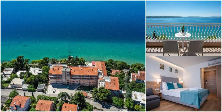 CRIKVENICA - ljetovanje uz 3, 5 ili 7 noćenja za 2 osobe s polupansionom u renoviranim sobama s balkonom i pogledom na more u Hotelu Mediteran 3* od 2.129 kn!