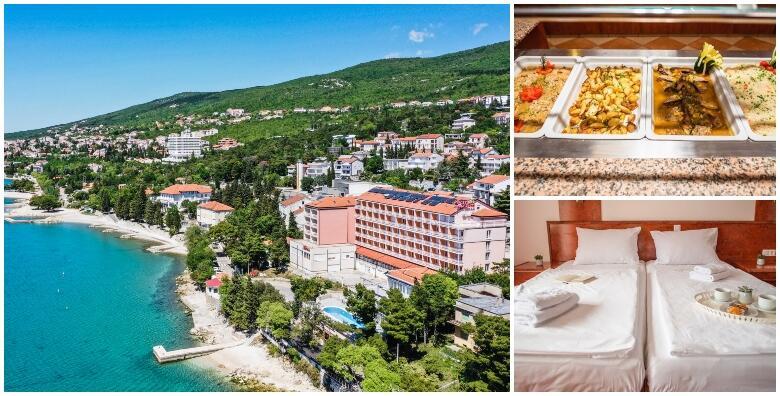 Crikvenica, Hotel Mediteran 3* - 3,5 ili 7 noćenja s polupansionom za dvoje od 1.679 kn!