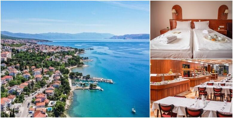 Crikvenica - 2, 3, 5 ili 7 noćenja s polupansionom za dvoje u Hotelu Mediteran 3* od 1.199 kn!