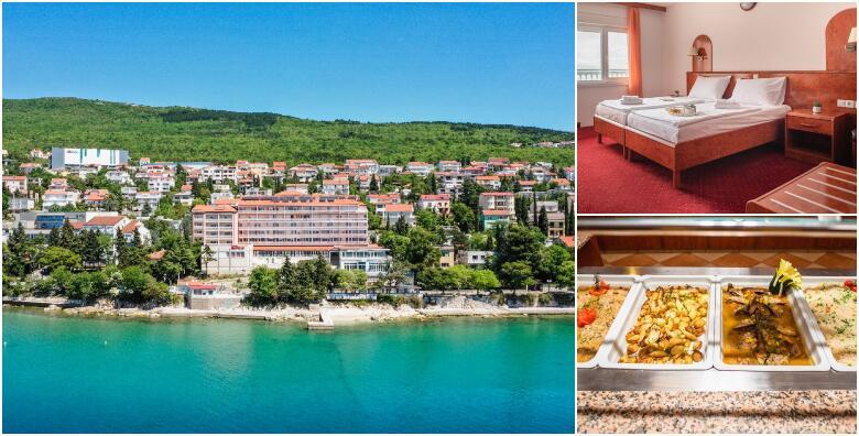 Crikvenica - 2, 3, 5 ili 7 noćenja s polupansionom za dvoje u Hotelu Mediteran 3* od 1.299 kn!