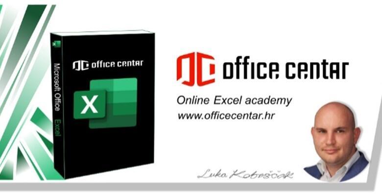 Ponuda dana: EXCEL ACADEMY - Uložite u sebe uz online tečaj kroz koji ćete savladati sve funkcije programa za 199 kn! (Office centar j.d.o.o.)