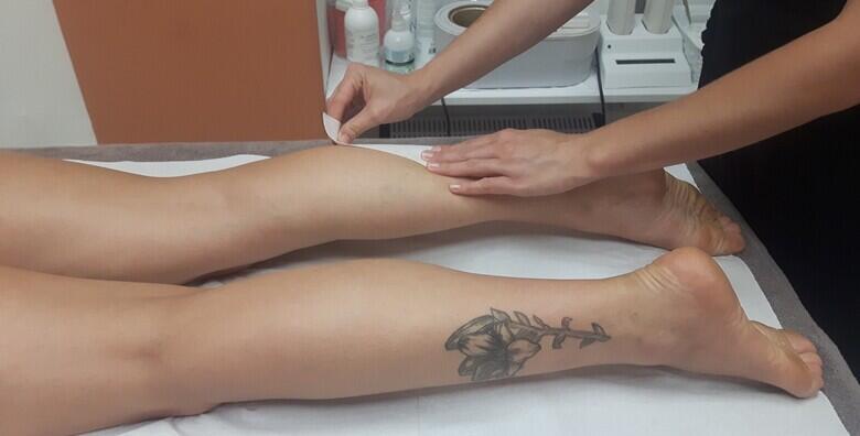 Depilacija cijelih nogu i bikini zone voskom za samo 99 kn!