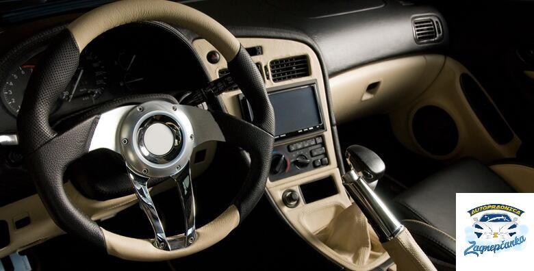 Kemijsko čišćenje unutrašnjosti vozila uz dezinfekciju ozonom od 299 kn!