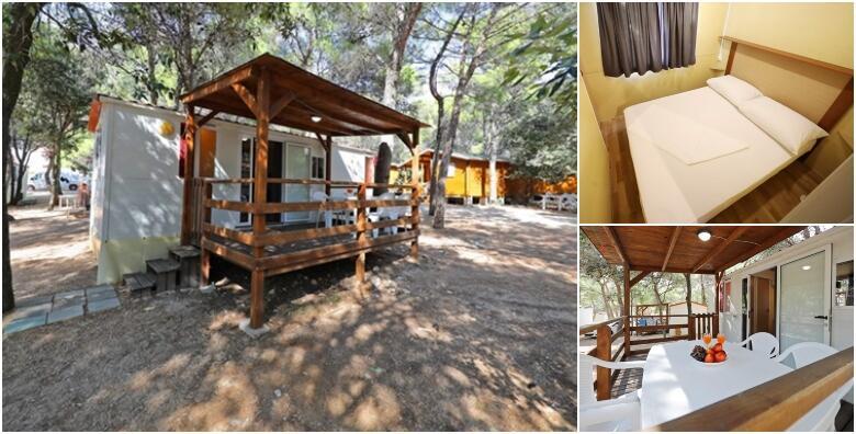 Kamp Porat, Pag - 2 ili 5 noćenja u standard mobilnim kućicama za 4+2 osobe u samom centru otoka Paga, smještene tik do mora od 1.117 kn!