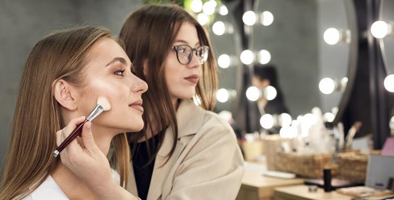 Individualni tečaj šminkanja - istaknite najljepše karakteristike svakog oblika lica za 750 kn!