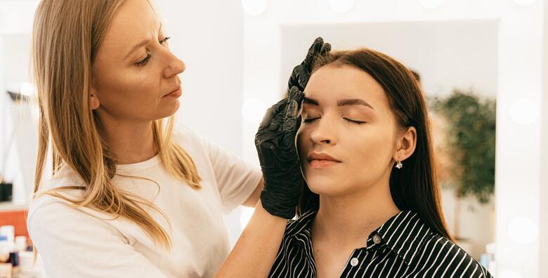 Stilizirajte Vaše obrve uz popularne tretmane brow lift, threading i bojanje obrva za 160 kn!