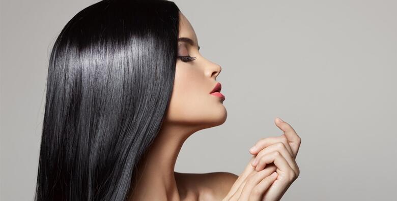 Bojanje izrasta ili klasični pramenovi uz tretman  šišanja i njege duge kose moroccanoilom za 170 kn!