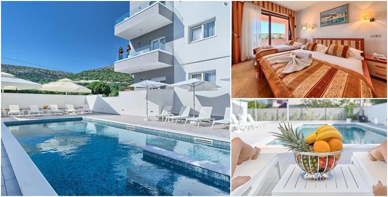 Ponuda dana: Trogir - 2, 3 ili 5 noćenja za 2 osobe s polupansionom u modernom opremljenom Hotelu Trogirski Dvori 3* uz neograničeno korištenje bazena od 1.499 kn! (Hotel Trogirski dvori 3*)