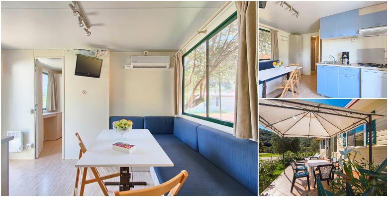 RABAC - provedite nezaboravan odmor uz 2, 3 ili 7 noćenja za 4-6 osoba u luksuzno mobilnim kućicama Oliva od 2.124 kn!
