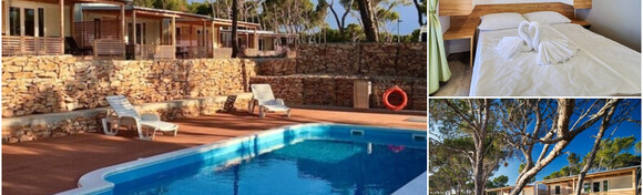 Supetar, otok Brač - idealan odmor u luksuznim mobilnim kućicama Boutique Campinga Bunja uz 2 ili 3 noćenja za do 6 osoba + gratis smještaj za dijete do 3 godine od 585 kn!