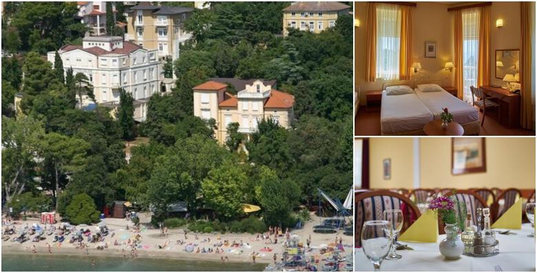CRIKVENICA - 2 ili 3 noćenja s polupansionom za dvoje u Hotelu Villa Ružica 3* od 1.125 kn!