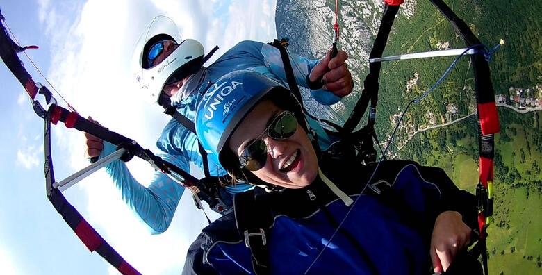 Paragliding - adrenalinski let s instruktorom za 940 kn!