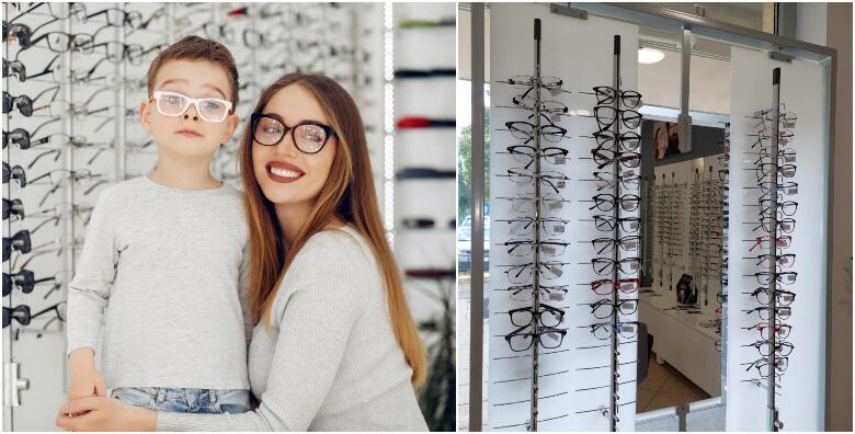 Kvalitetne dioptrijske naočale uz kontrolu vida GRATIS u u Optici Vidimo za 389 kn!