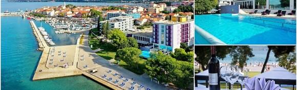 Biograd na Moru - provedite 7 noćenja s polupansionom za 1 osobu + gratis smještaj za 1 dijete do 7 godina u Hotel Adriatic 4* tik uz plažu i glavnu gradsku šetnicu od 3.060 kn!