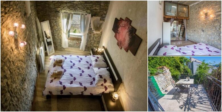 MOTOVUN - probudite se uz čaroban pogled na stari grad Motovuna uz 2 noćenja za 2 - 4 osobe u Villi Luna 3* od 738 kn!
