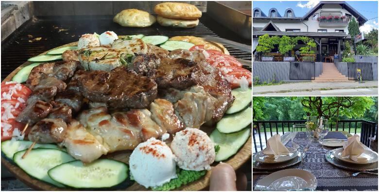Slap Grill Restaurant - uživajte s ekipom uz platu za 4 osobe i gratis aperitiv za 200 kn!