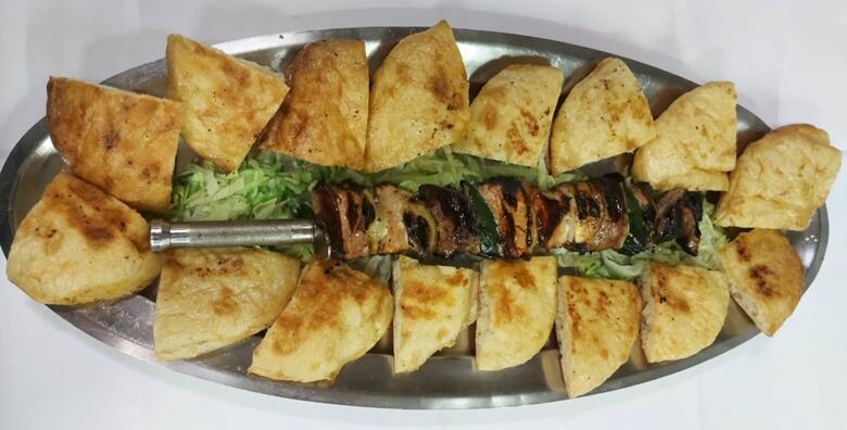 Gurmanska sablja za 2 osobe - prava gurmanska poslastica u Restoranu Slap Grill za samo 100 kn!