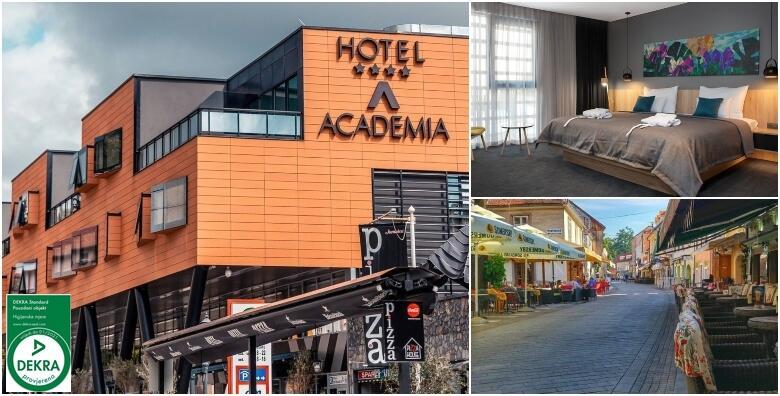 Zagreb - 1 ili 2 noćenja za 2 osobe s polupansionom u Hotelu Academia 4* od 878 kn!