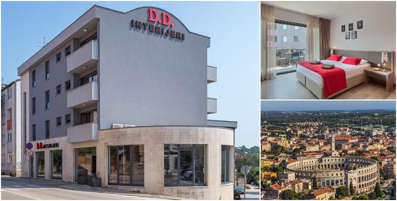 POPUST: 34% - PULA - 2 noćenja za 2 osobe u dvokrevetnoj sobi Premium s uključenim doručkom u Pula City Center Accommodation 4* za 999 kn! (Pula City Center Accommodation 4*)