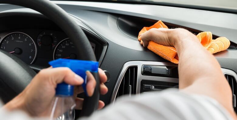 Detaljno čišćenje unutrašnjosti vozila + dezinfekcija ozonom na VAŠOJ lokaciji za samo 99 kn!