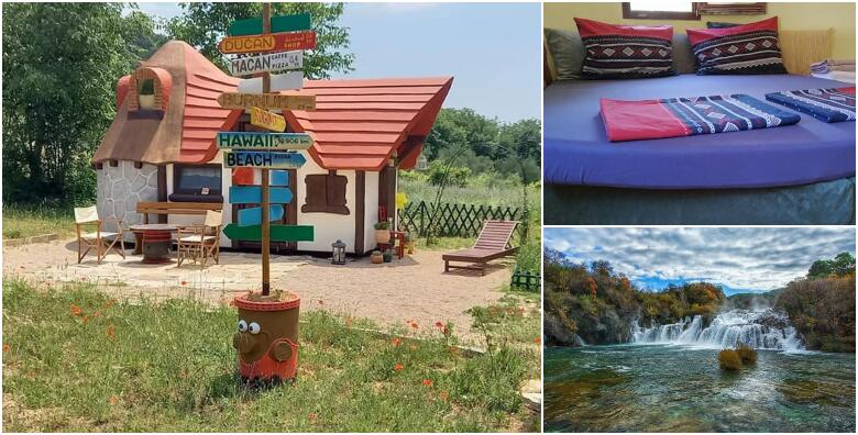 Skradin - 2 noćenja za 2 do 4 osoba u bajkovitim kućicama Krka Fairytale Village-a za 940 kn!