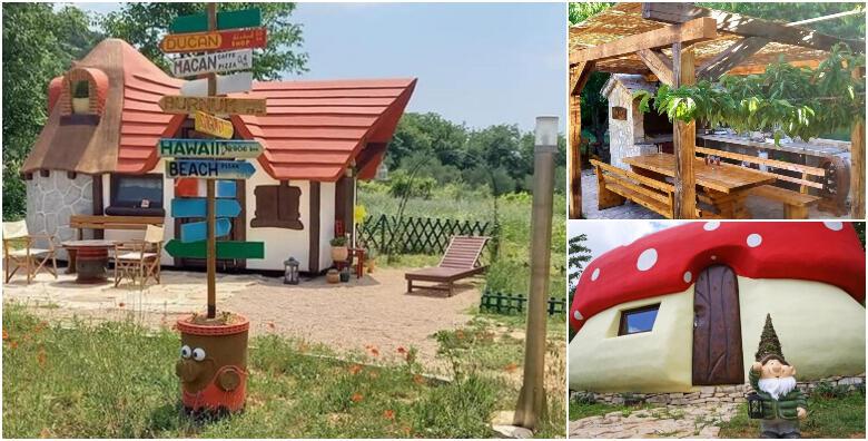 Skradin - 2 noćenja za 3 do 5 osoba u bajkovitim kućicama Krka Fairytale Village-a za 940 kn!