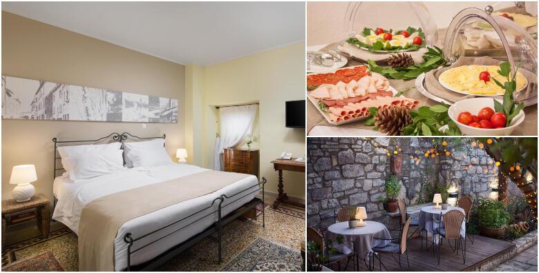 POPUST: 40% - Rovinj - uživajte u srcu stare gradske jezgre uz 1 ili 2 noćenja za 2 osobe s doručkom u luksuznom heritage hotelu Angelo d'Oro 4* uz piće dobrodošlice od 636 kn! (Angelo d'Oro heritage hotel 4*)
